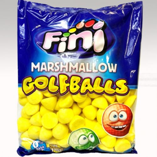 FINI YELLOW GOLF BALLS MALLOWS 1KG BAG